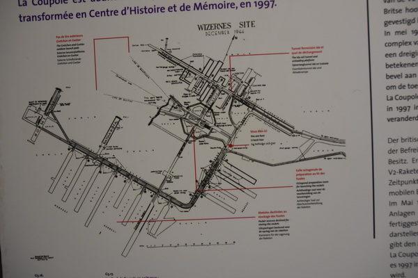 Översiktkartan ger kanske en liten bild av den omfattande anläggningen.