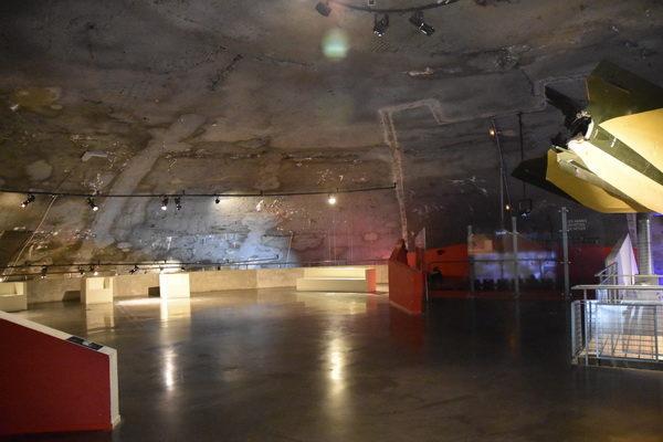 En del av den enorma kupolen.