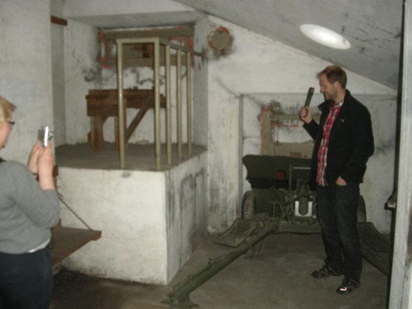 Dags för det obligatoriska bunkerfotografiet.