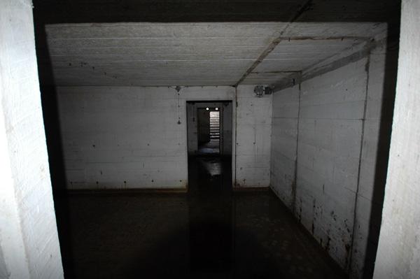 Ser inte mycket ut för världen, ett tomt skyddsrum.