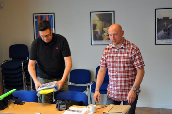 De båda författarna Alexander Olsson och Tim Eriksson, välkända för många i bunkervärlden.