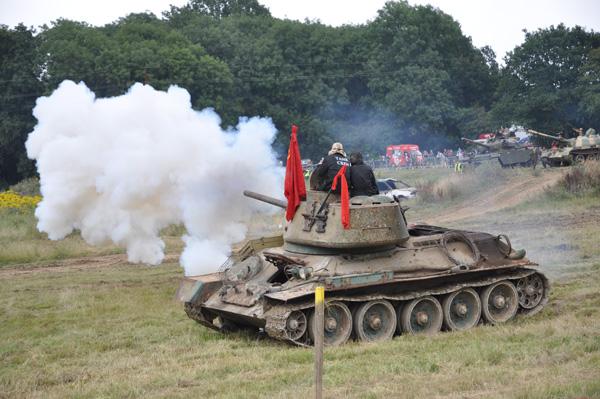Rysk T 34/85 av jugoslavisk härkomst.