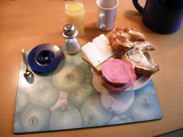 En RIKTIG frukost, med allt vad där hör till!