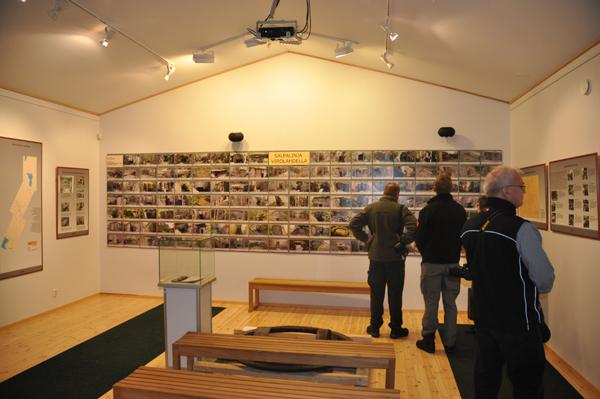 Imponerande! En hel vägg med bunkerbilder!