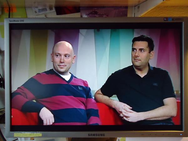 Årets julklapp? Författarna i TV 1,s morgonsoffa