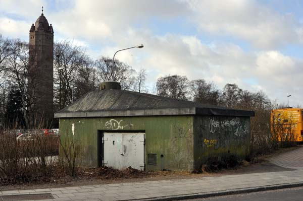 Stadsvärn T 13 i centrala Trelleborg.