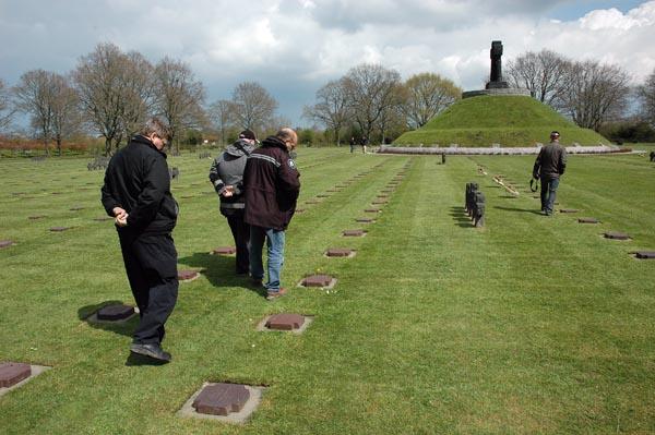 Tyska krigskyrkogården La Cambe.
