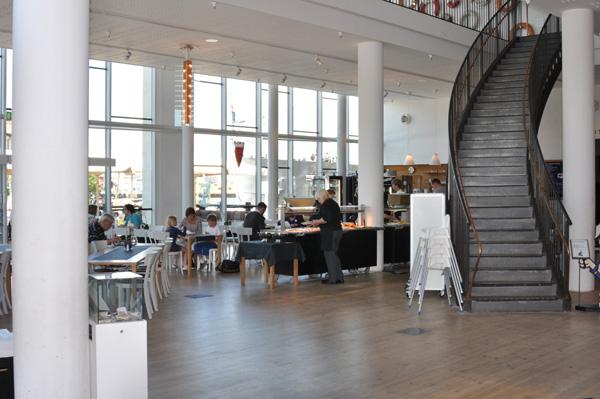 Marin restaurang på Marinmuseum