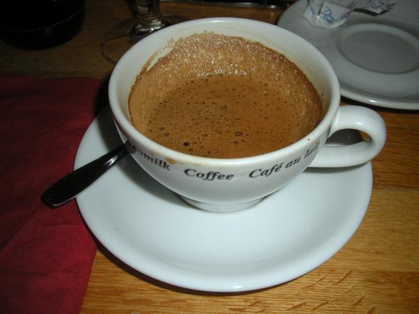 Äkta pulverkaffe!