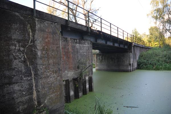 Vridbro, en del av försvarsanläggningarna i Ostwallen.