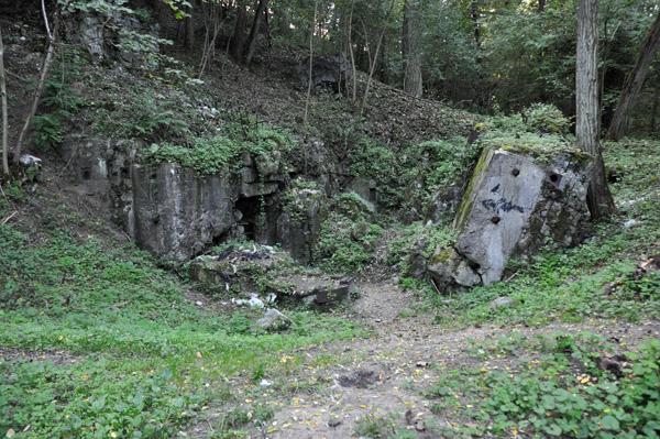 Panzerwerk Ludendorff, nedre delen.