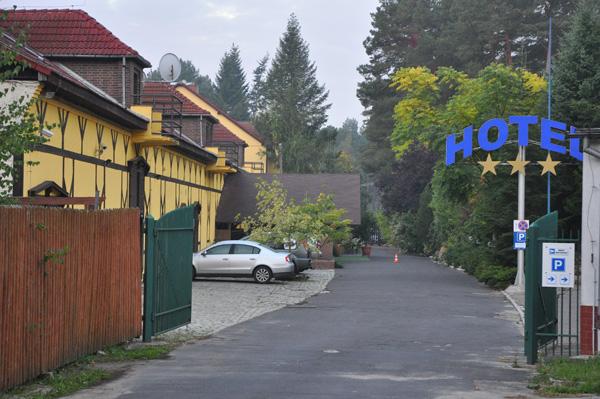 Vårt hotell under de tre dagarna. Ett riktigt trevligt ställe!