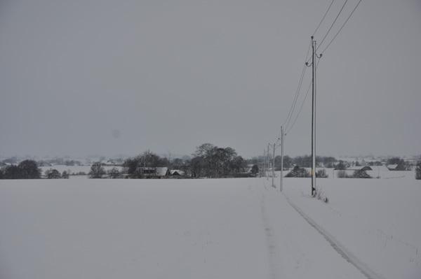 Så blev det då vinter - igen!
