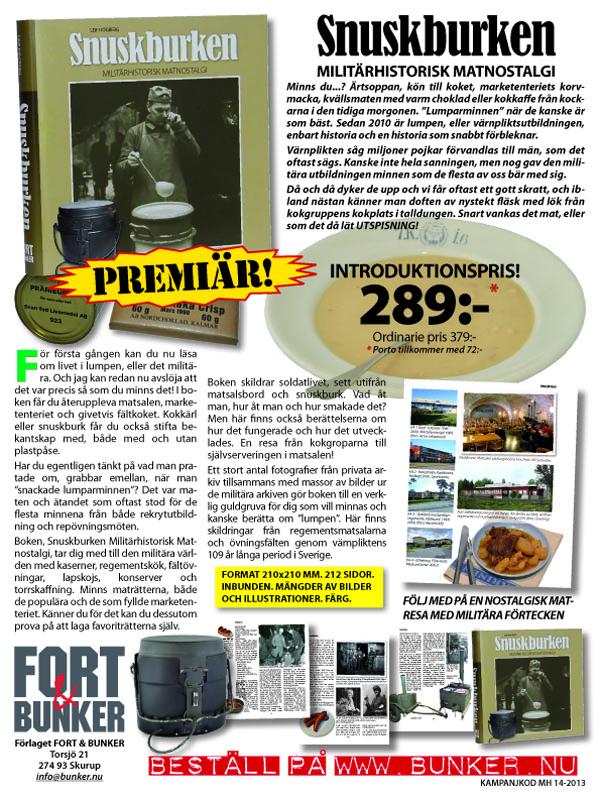 Annonsen som just nu är aktuell i Militär Historia och Allt om Historia.