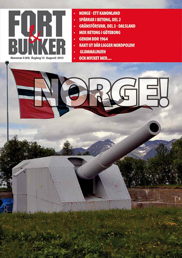 Norgenummer av FORT & BUNKER, nummer 3 2013
