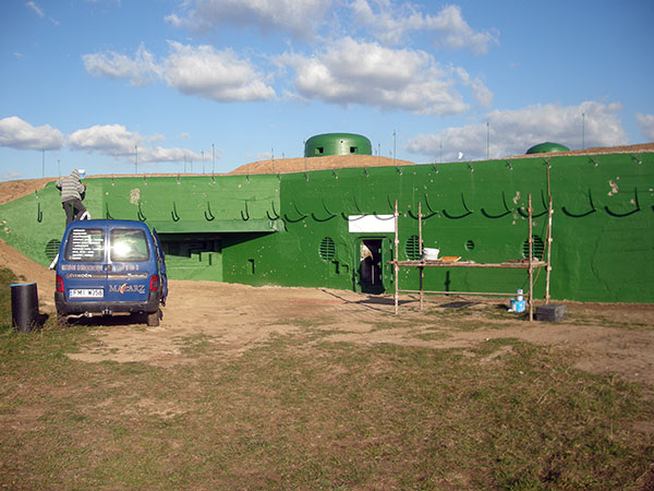 Finns det en färg som heter Bunkergrön?