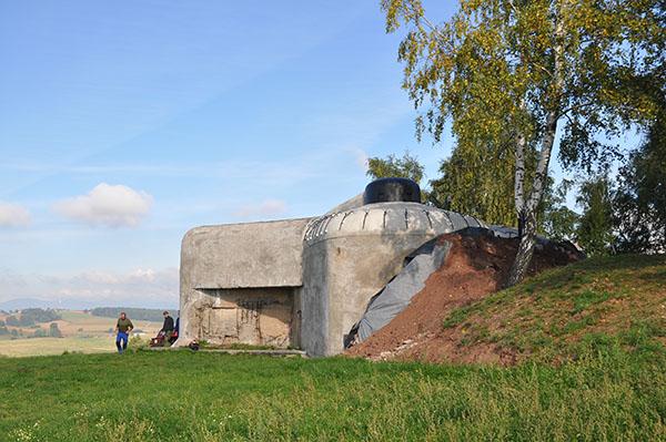 Bunkern T-S-1 a KOTA. Ett pågående renoveringsprojekt.
