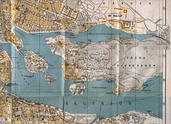 Stockholm när det begav sig i början av 1920-30-talet