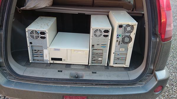 Mina första datorer.