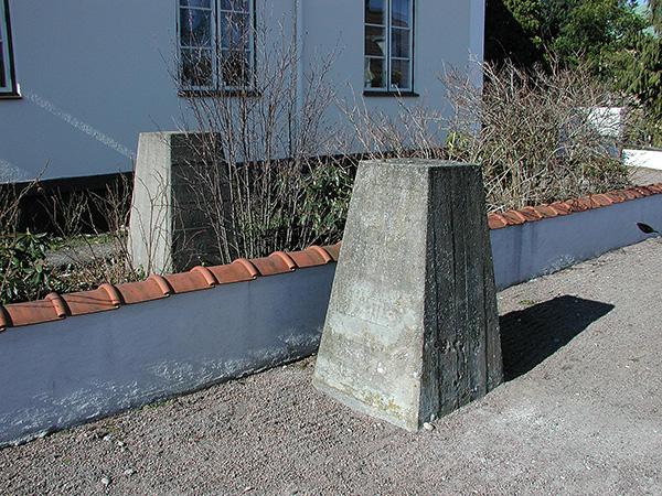 Spärrhinder i Råå 2005.