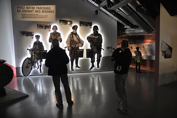 Bastogne Warmuseum. Kanske inte riktigt vad jag tänkt mig.