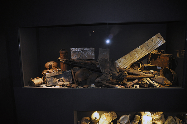 Montrar med spännande innehåll på museet i Malmedy