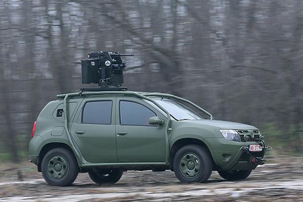 Och det är ju inte vilken bil som helst, inte om man får tro rumänska armén.