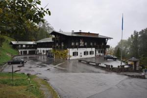 Hotell Zum Turken i Obersalzberg. Tidigae kvarter för Hitlers livvakt.