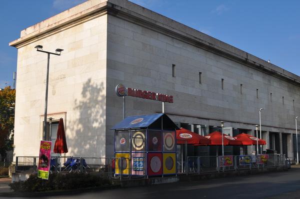 Burger King i Nurnberg. Med minnen från förr.