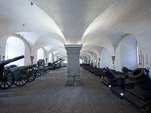 Kanonhallen på Töjhusmuseet.