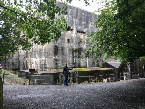 Den var rätt stort - Bunkern i Eperlecques.