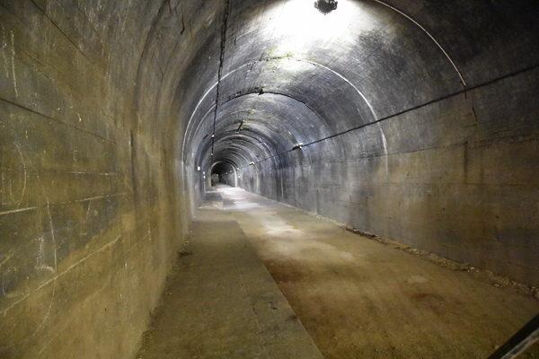 Huvudtunnlarna är av ordentlig storlek och långa.